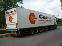 Scania Carna Transport s návěsem